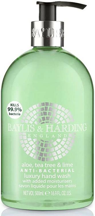 Hand Liquid Soap - Baylis & Harding Aloe, Tea Tree and Lime Hand Wash