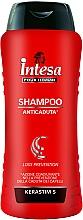 Fragrances, Perfumes, Cosmetics Anti-Hair Loss Shampoo - Intesa Classic Black Shampoo Loss Prevention