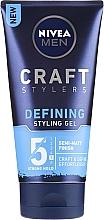Fragrances, Perfumes, Cosmetics Matte Hair Styling Pomade - Nivea Men Craft Stylers Defining Styling Gel