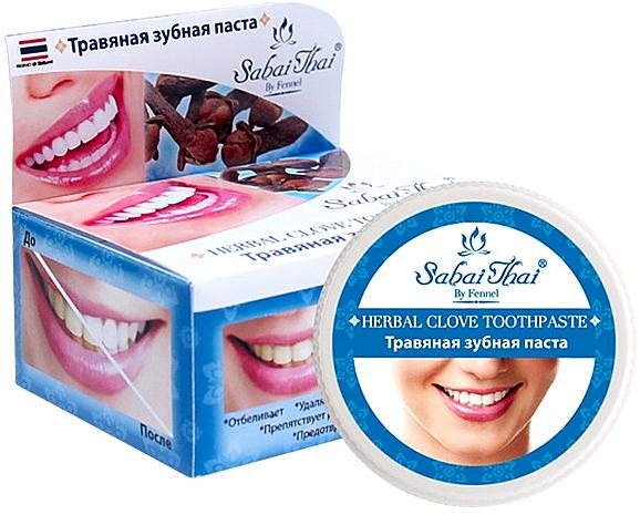 Cloves Toothpaste - Sabai Thai Herbal Clove Toothpaste
