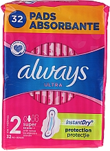 Fragrances, Perfumes, Cosmetics Sanitary Pads, 32pcs - Always Ultra Super Plus