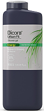 """Fragrances, Perfumes, Cosmetics Shower Gel """"Vetiver and Ginseng"""" - Dicora Urban Fit Shower Gel"""