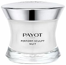 Fragrances, Perfumes, Cosmetics Firming Night Cream - Payot Perform Sculpt Nuit