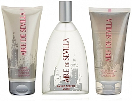 Fragrances, Perfumes, Cosmetics Instituto Espanol Aire de Sevilla - Set (edt/150ml + body/cr/150ml + sh/gel/150ml)