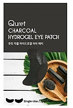 Fragrances, Perfumes, Cosmetics Eye Patches - Quret Charcoal Hydrogel Eye Patch