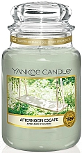 Fragrances, Perfumes, Cosmetics Scented Candle in Jar - Yankee Candle Afternoon Escape