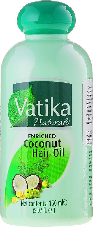 Enriched Coconut Hair Oil - Dabur Vatika Enriched Coconut Hair Oil
