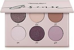 Fragrances, Perfumes, Cosmetics Eyeshadow Palette, 6 Shades - Pierre Rene 6th Sense Eyeshadow Palette
