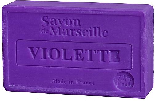 """Natural Soap """"Violet"""" - Le Chatelard 1802 Soap Violet"""