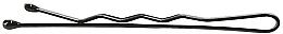 Fragrances, Perfumes, Cosmetics Waved Hair Grips, 4 cm., black - Lussoni Waved Hair Grips 4 cm Black