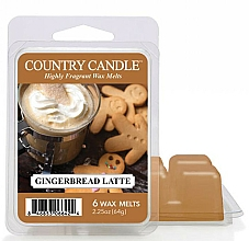 Fragrances, Perfumes, Cosmetics Aroma Lamb Wax - Country Candle Gingerbread Latte Wax Melts