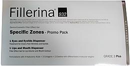 Fragrances, Perfumes, Cosmetics Set - Fillerina Grade 3+ (lips/gel/7ml + eye/gel/15ml)