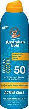 Fragrances, Perfumes, Cosmetics Sunscreen Spray - Australian Gold Fresh & Cool Continuous Spray Sunscreen Spf50