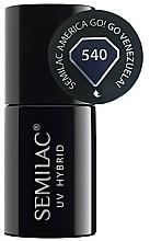 Fragrances, Perfumes, Cosmetics Nail Polish - Semilac UV Hybrid America Go!