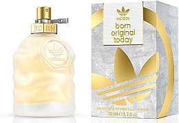 Fragrances, Perfumes, Cosmetics Adidas Born Original Today For Her - Eau de Toilette