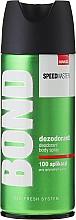 Fragrances, Perfumes, Cosmetics Deodorant - Bond Speedmaster Deo Spray
