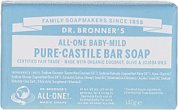Fragrances, Perfumes, Cosmetics Baby Soap - Dr. Bronner's Pure Castile Bar Soap Baby-Mild