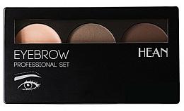 Fragrances, Perfumes, Cosmetics Brow Palette - Hean Professional Eyebrow Set 2