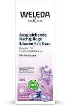 Iris Night Cream - Weleda Iris Nachtcreme — photo N2