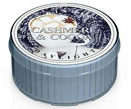 Fragrances, Perfumes, Cosmetics Tea Candle - Kringle Candle Daylight Cashmere & Cocoa