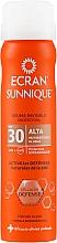 Fragrances, Perfumes, Cosmetics Invisible Protecting Spray - Ecran Sunnique Spray Protection SPF30