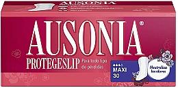 Fragrances, Perfumes, Cosmetics Daily Liners, 30 pcs - Ausonia Protegeslip Maxi