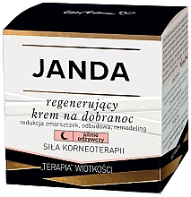 Fragrances, Perfumes, Cosmetics Regenerating Night Face Cream - Janda Strong Regeneration Good Night Cream