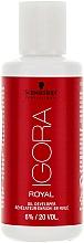 Fragrances, Perfumes, Cosmetics Oil Developer 6% - Schwarzkopf Professional Igora Royal Oxigenta