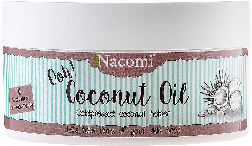Coconut Oil, unrefined - Nacomi Coconut Oil 100% Natural Unrefined