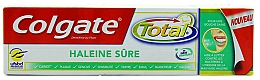 "Fragrances, Perfumes, Cosmetics Toothpaste ""Breathe Confidently"" - Colgate Total Clean Breath"