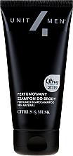 Fragrances, Perfumes, Cosmetics Perfumed Beard Shampoo - Unit4Men Citrus&Musk Perfumed Beard Shampoo
