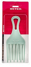 Fragrances, Perfumes, Cosmetics Curly Hair Comb, turquoise, 17 cm - Beter Beauty Care