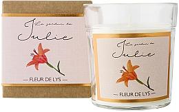 Fragrances, Perfumes, Cosmetics Lily Scented Candle - Ambientair Le Jardin de Julie Fleur de Lys