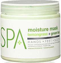 "Fragrances, Perfumes, Cosmetics Body Mask ""Lemongrass & Green Tea"" - BCL Spa Lemongrass Green Tea Moisture Mask"