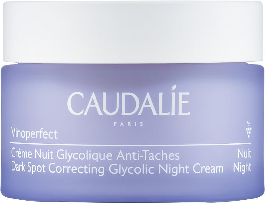 Anti-Dark Spot Night Cream with Glycolic Acid - Caudalie Vinoperfect Dark Spot Correcting Glycolic Night Cream — photo N1