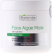 Fragrances, Perfumes, Cosmetics Alginate Face Mask with Spirulina - Bielenda Professional Algae Spirulina Face Mask