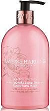 Fragrances, Perfumes, Cosmetics Hand Liquid Soap - Baylis & Harding Magnolia & Pear Blossom Hand Wash