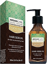 Fragrances, Perfumes, Cosmetics Coconut Oil Hair Serum - Arganicare Coconut Hair Serum For Dull, Very Dry & Frizzy Hair