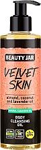 Fragrances, Perfumes, Cosmetics Cleansing Body Oil - Beauty Jar Velvet Skin Body Cleansing Oil