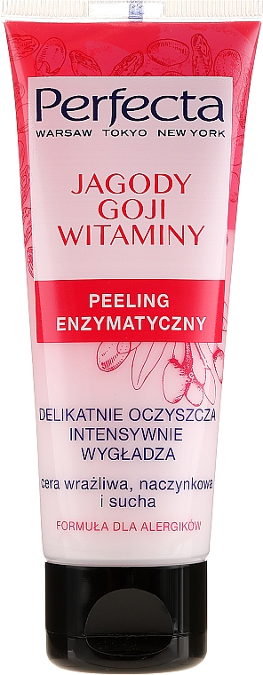 """Enzyme Face Peeling """"Goji Berry and Vitamins"""" - Perfecta"""