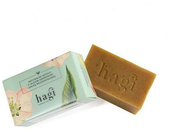 Natural Soap with Nutmeg - Hagi Soap