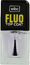 Fragrances, Perfumes, Cosmetics Colorless Top Coat - Wibo Fluo Top Coat