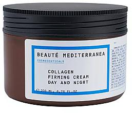 Fragrances, Perfumes, Cosmetics Firming Collagen Cream - Beaute Mediterranea Collagen Firming Cream Day & Night