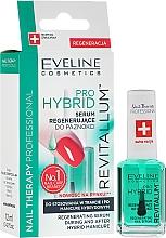 Fragrances, Perfumes, Cosmetics Nail Hybrid Serum - Eveline Cosmetics Nail Therapy Professional Revitalum Pro Hybrid