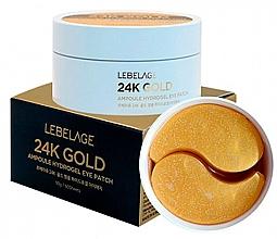 Fragrances, Perfumes, Cosmetics Hydrogel Eye Patches - Lebelage 24K Gold Ampoule Hydrogel Eye Patch
