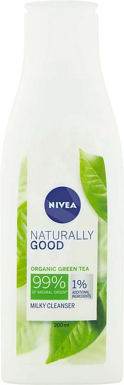 Cleansing Milk - Nivea Naturally Good Green Tea Milky Cleanser