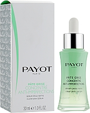 Fragrances, Perfumes, Cosmetics Mattifying Face Serum - Payot Pate Grise Concentre Anti-Imperfections