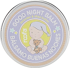 "Fragrances, Perfumes, Cosmetics Night Balm for Mother and Child ""Lavender and Shea Butter"" - Roofa Good Night Balm"