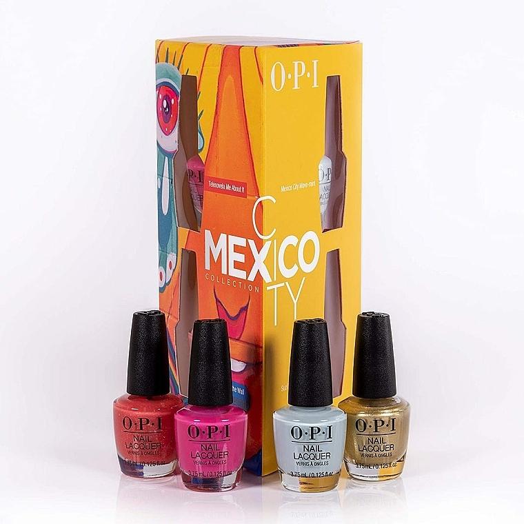 Set - O.P.I. Mexico City Collection Mini Set — photo N2
