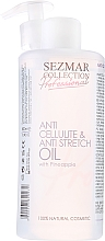 Fragrances, Perfumes, Cosmetics Anti-Cellulite Pineapple Oil - Sezmar Collection Professional Anti Cellulite & Anti Strech Oil
